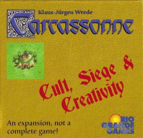 Carcassonne: Cult, Siege and Creativity