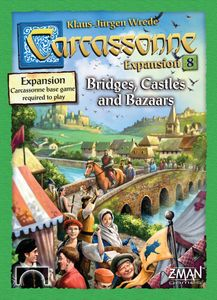 Carcassonne: Expansion 8 – Bridges, Castles and Bazaars