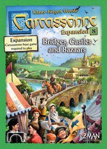 Carcassonne: Expansion 8 – Bridges, Castles and Bazaars