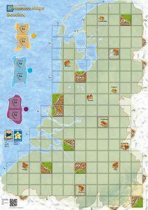 Carcassonne Maps: Benelux