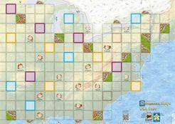 Carcassonne Maps: USA East