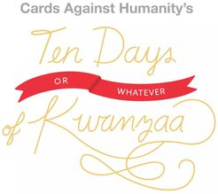 Cards Against Humanity: Ten Days or Whatever of Kwanzaa