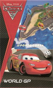 Cars 2 World GP travel game
