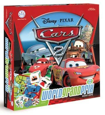 Cars 2 World Grand Prix Board Game