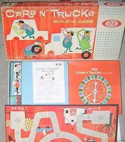 Cars N' Trucks Build-A-Game