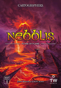 Cartographers Map Pack 1: Nebblis – Plane of Flame