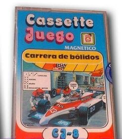 Cassette Juego: Carrera de Bolidos