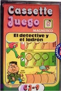 Cassette Juego: Detective y Ladron