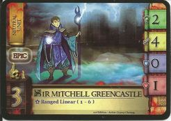Castle Assault: Sir Mitchell Greencastle Promo Card