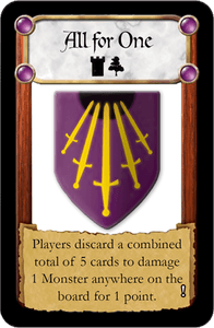 Castle Panic: All For One Promo Card