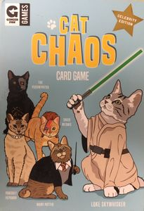 Cat Chaos Card Game: Celebrity Edition