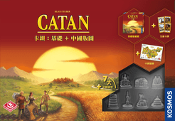Catan: Core + China Map