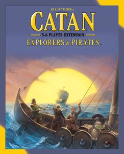 Catan: Explorers & Pirates – 5-6 Player Extension