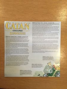 Catan Geographies: Kennessee