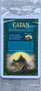 Catan: High Priests of the Inkas
