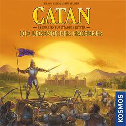 Catan: Szenarien für Städte & Ritter – Die Legende der Eroberer