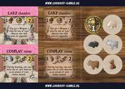 Caverna: LARP and Cosplay Postcard