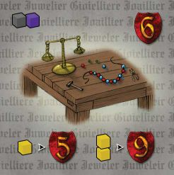 Caylus Expansion: The Jeweller