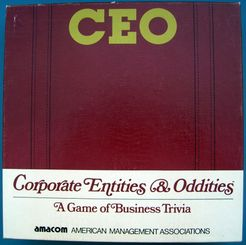 CEO: Corporate Entities & Oddities