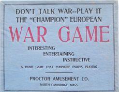 Champion European War Game