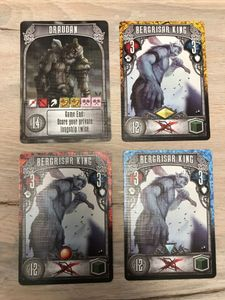 Champions of Midgard: Draudan and Bergrisar King Promo Cards