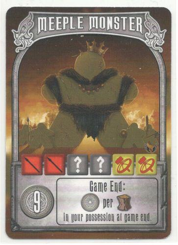 Champions of Midgard: Meeple Monster Promo Card