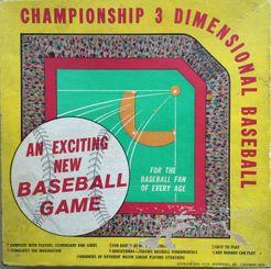 Championship 3 Dimensional Baseball