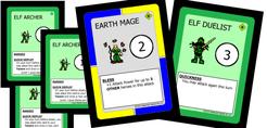 Character Quest: Elf Hero Set