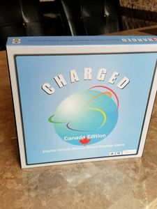 Charged Canada: Electric Vehicle Mission-Based Strategy Board Game
