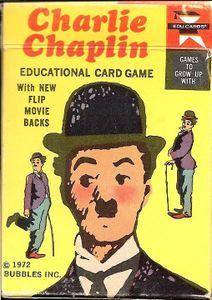 Charlie Chaplin Card Game
