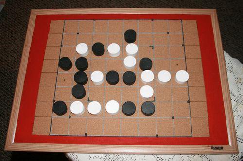 Checkers Gomoku