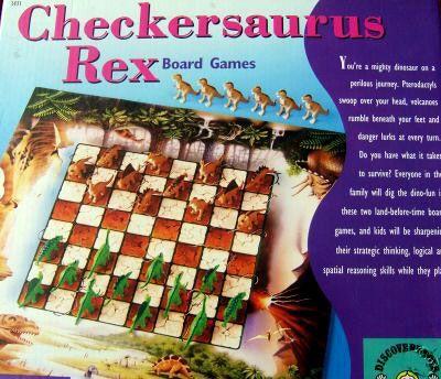Checkersaurus Rex
