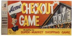 Checkout Game: 4 Square Food-Market Shopping Game