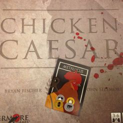Chicken Caesar: Metallicus Promo Card