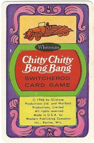 Chitty Chitty Bang Bang Switcheroo Card Game