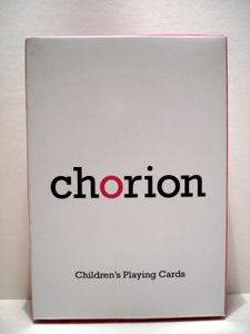 Chorion Children's Playing Cards