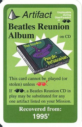 Chrononauts: Beatles Reunion Album Promo Card