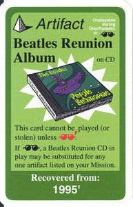 Chrononauts: Beatles Reunion Album Promo Card
