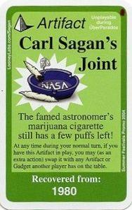 Chrononauts: Carl Sagan's Joint