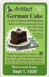 Chrononauts: German Cake Promo Card