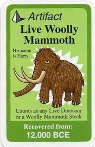 Chrononauts: Live Woolly Mammoth