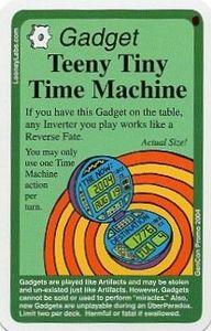 Chrononauts: Teeny Tiny Time Machine Promo Card