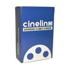 Cinelinx: A Card Game For People Who Love Movies – Superheroes & Comics Expansion