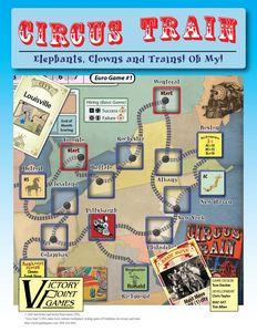 Circus Train (First Edition)