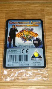 City Council: Government Agent Expansion
