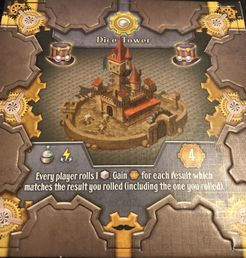 City of Gears: Dice Tower Promo Tile