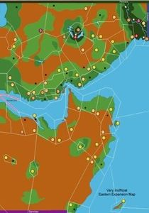 Civilization Eastern Expansion Map