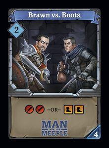 Clank!: Brawn vs. Boots