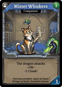 Clank! Legacy: Acquisitions Incorporated – Mister Whiskers
