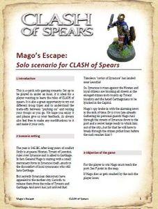 CLASH of Spears: Mago's Escape